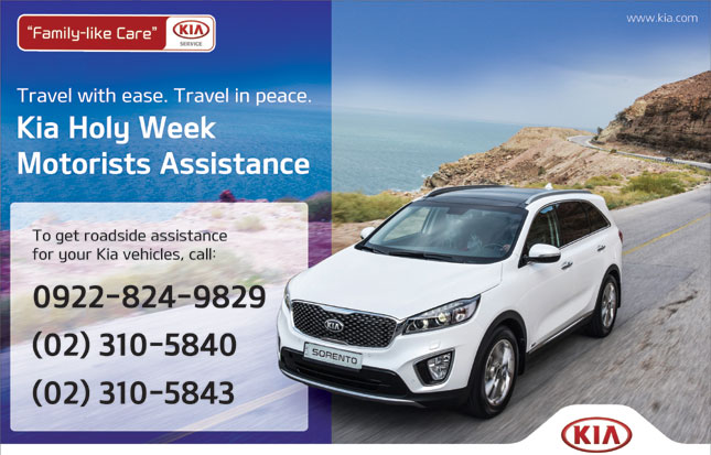 holy week roadside assistance bulletin kia. Black Bedroom Furniture Sets. Home Design Ideas