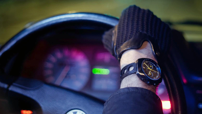 Driver's watches