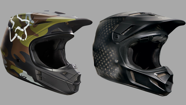 Fox Racing helmets