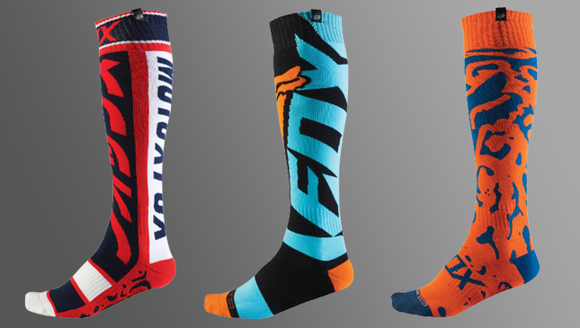 Fox Racing performance socks