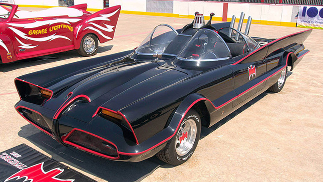 Adam West's Batmobile