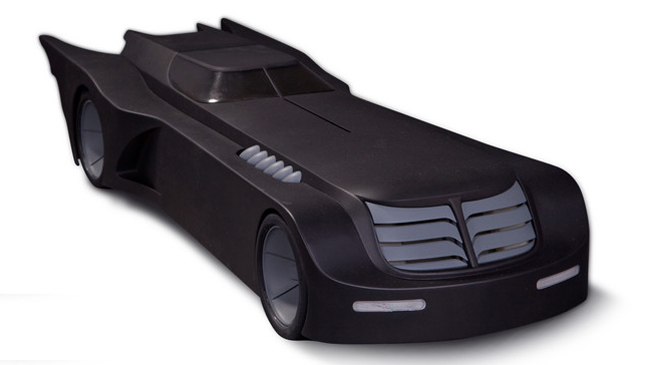 Animated Batmobile