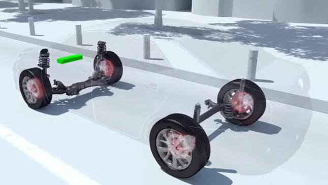 Toyota EBS system
