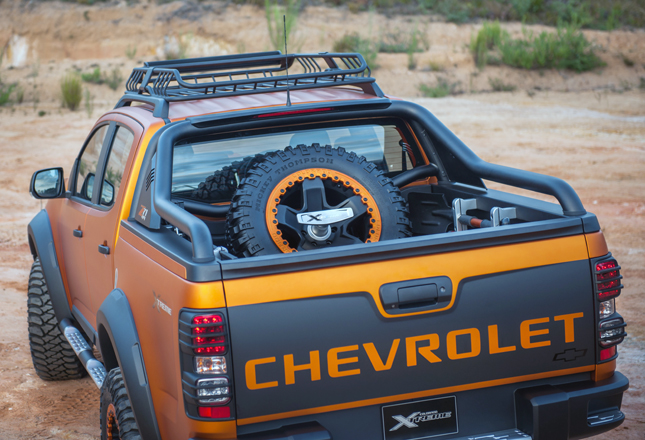 Want Chevrolet's Colorado Xtreme show vehicle? You can help make it a reality Car News Top