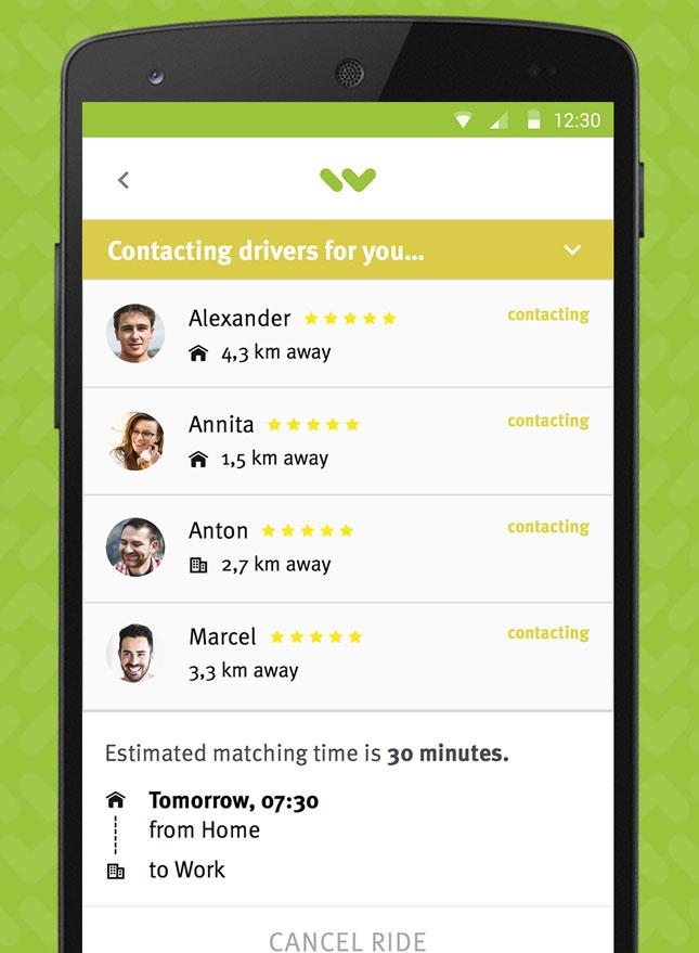 Wunder app