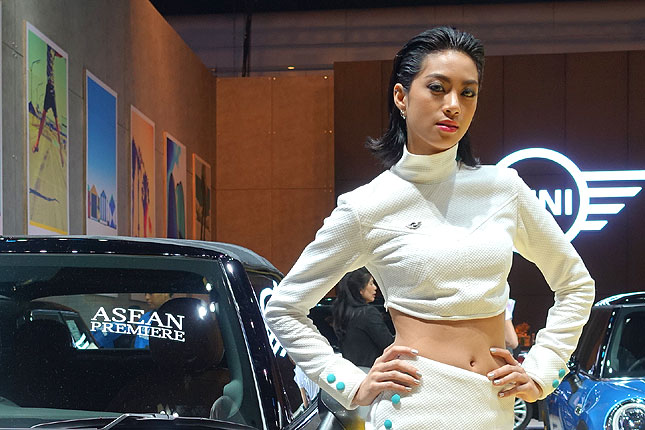 20 images: The girls of the 37th Bangkok International Motor Show