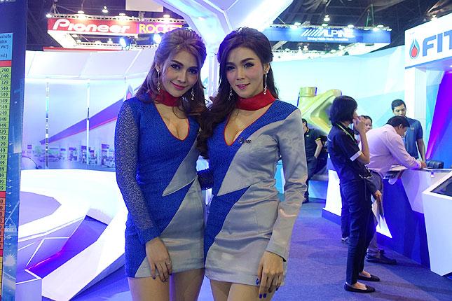 Bangkok International Motor Show girls