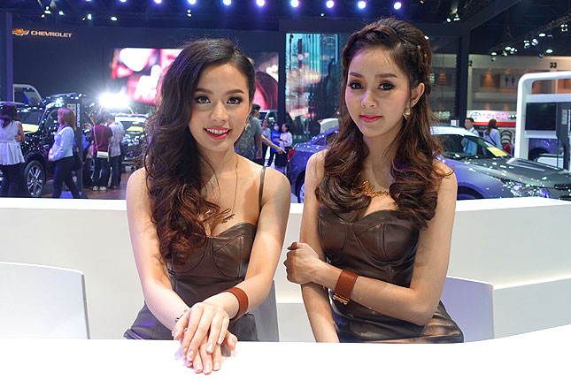 Bangkok International Motor Show girls