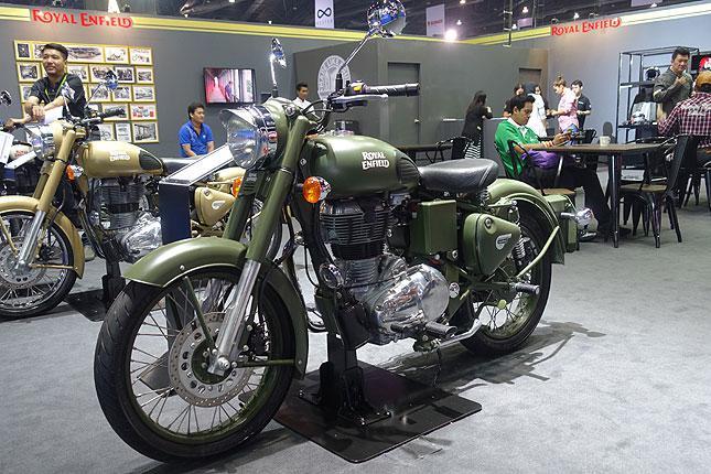 Bangkok Motor Show motorcycles