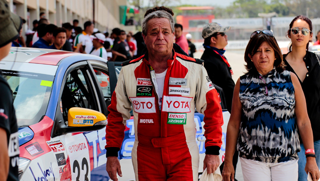 Vios Cup pits