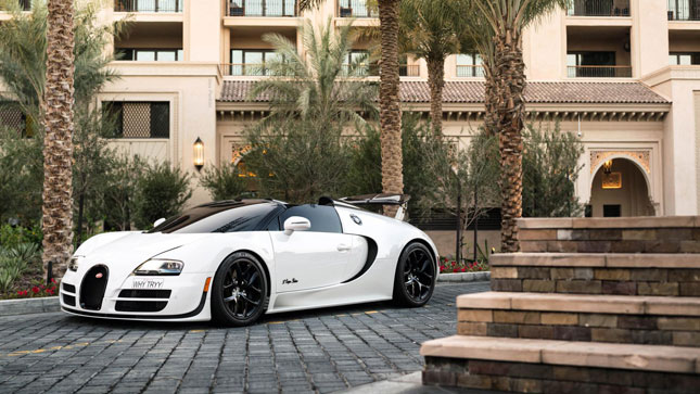 Middle East exotic cars