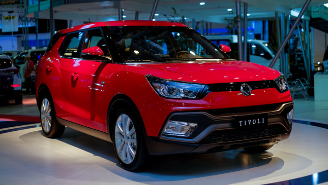 SsangYong at MIAS 2016