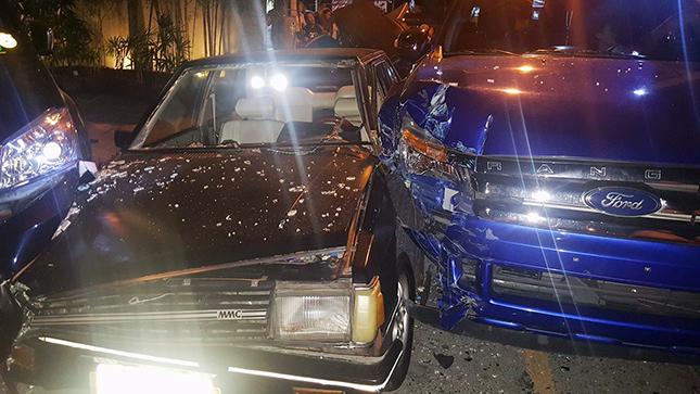 BF Homes car crash