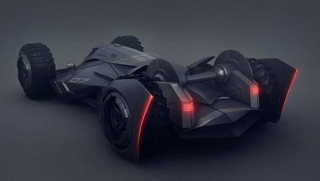 Encho Enchev Batmobile