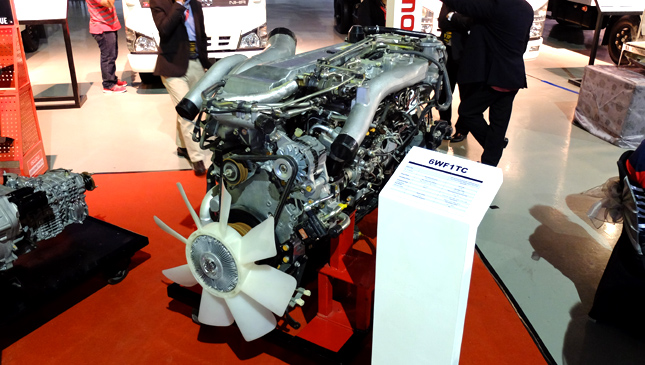 Isuzu engine