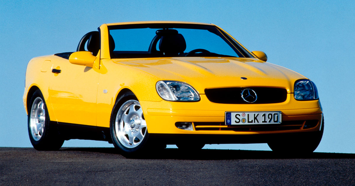Mercedes Benz Slk Marks 20th Birthday This Year Feature