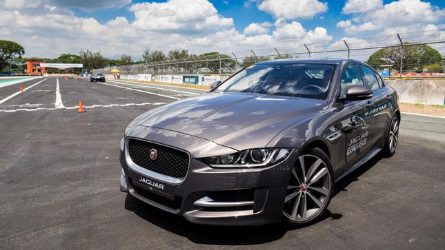 Jaguar track day