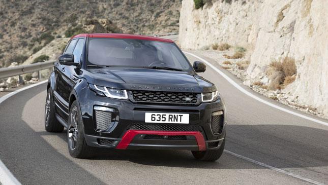 Range Rover Evoque Ember edition