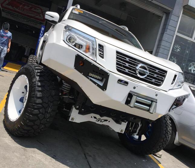 This modified Nissan Navara will make you want a pickup truck