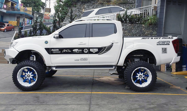 Nissan Navara by Jeff's Off-Road