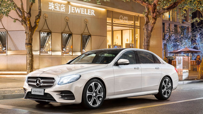 Mercedes-Benz E-Class long wheelbase