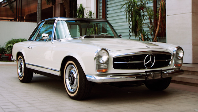 Remember the classic mercedes benz sl 39 pagoda 39 for Mercedes benz luxembourg