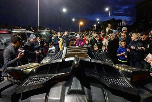 Gumball 3000 Batmobile