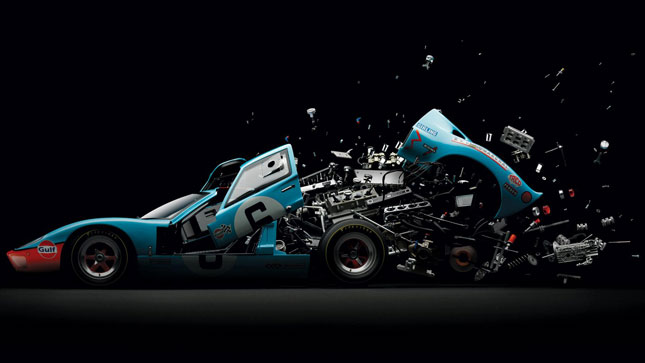 Disintegrating cars