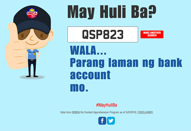 Our 12 favorite funny replies from MMDA's May Huli Ba website