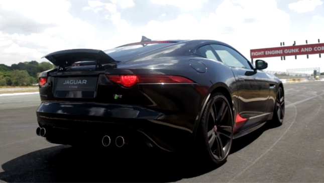 Video: We Try Out The Jaguar F Type Coupe At Clark International Speedway