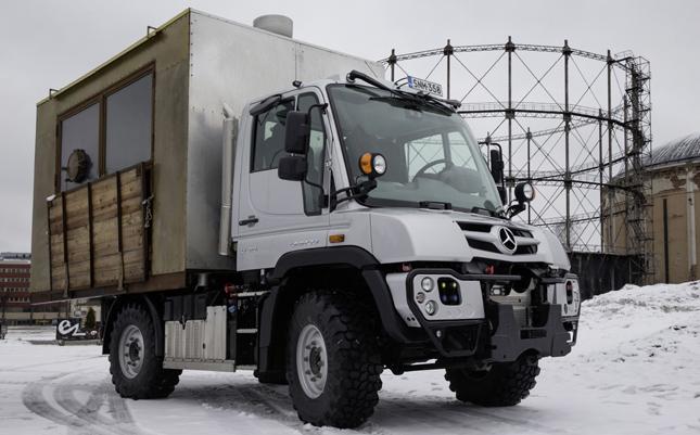 Unimog food truck
