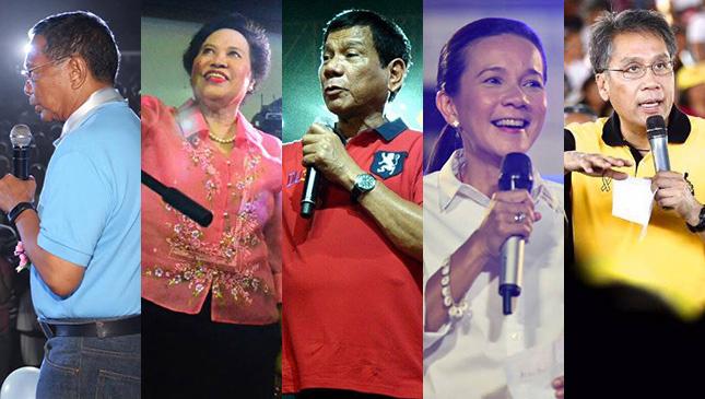 Grading the 2016 presidentiables