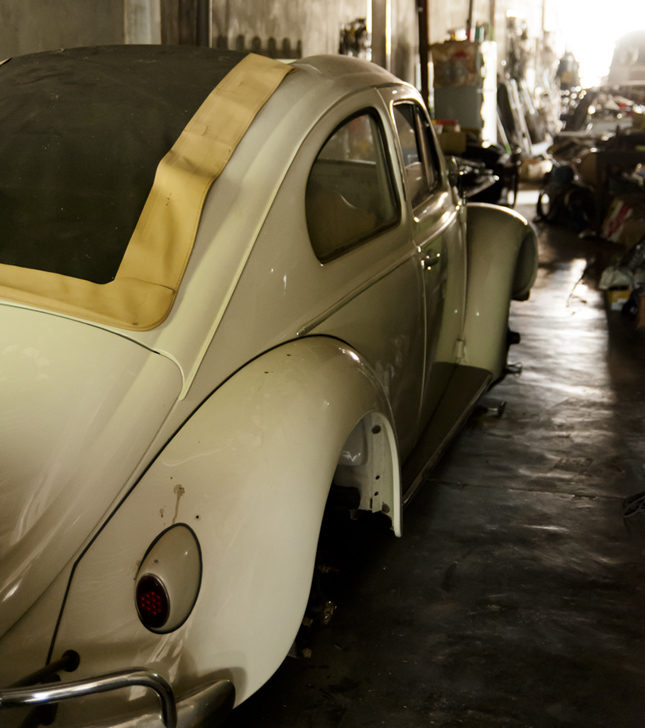 Classic Volkswagen Beetles live on through this talyer
