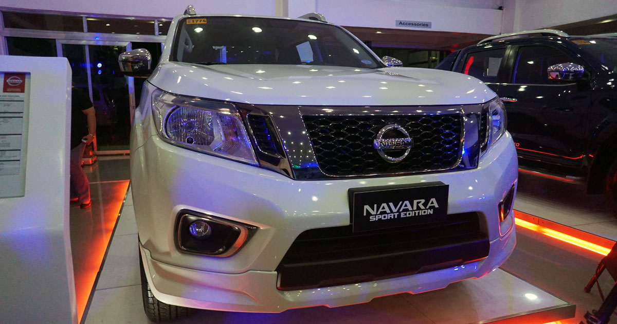 Nissan Navara: Sport Edition variant, price, colors