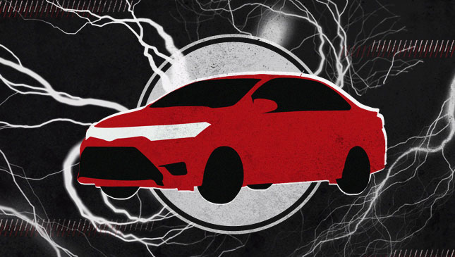 Static electricity in car