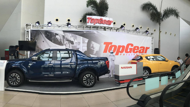 Top Gear Philippines booth