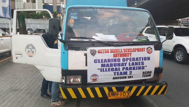 MMDA's Frequently Asked Questions on towing