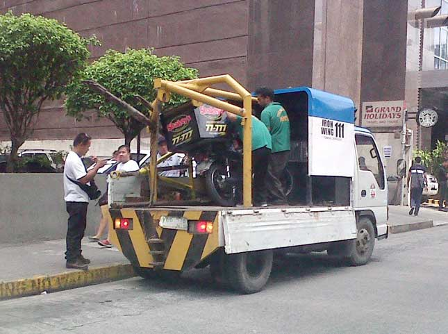MMDA towing guidelines