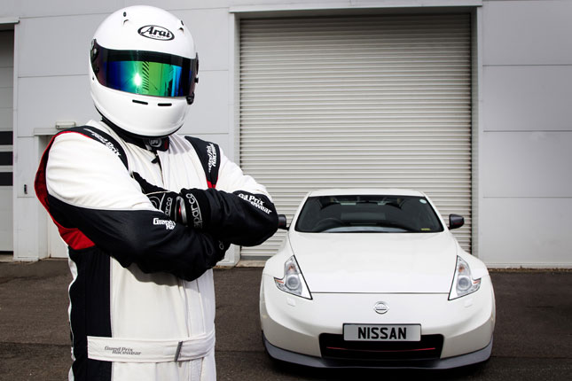 Nissan's Stig