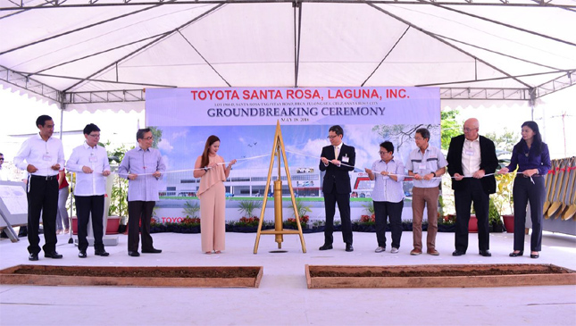 Toyota Santa Rosa ground-breaking