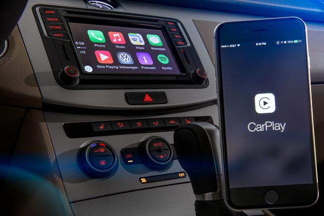 Apple iPhone car controller
