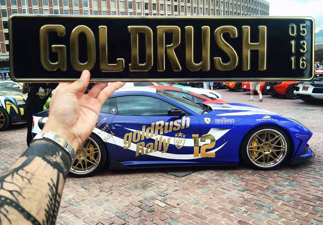 2016 GoldRush Rally