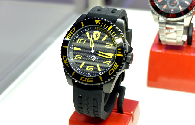 watch ferrari amazon casual and watches stainless black steel s color pilota leather quartz men com scuderia dp