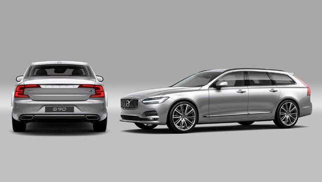 Volvo V90 and S90 Polestar