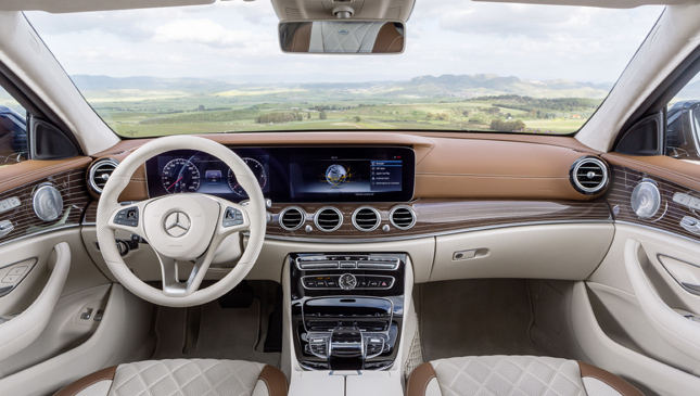 The new Mercedes-Benz E-Class wagon is a perfect mix of style and practicality