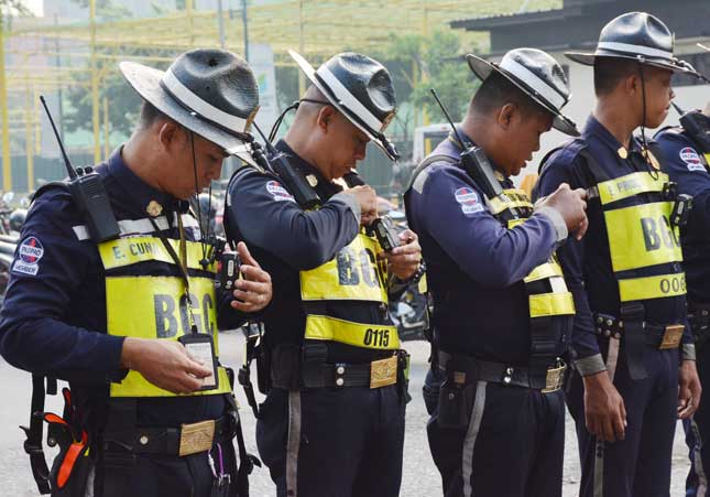 Bonifacio Global City traffic marshal's body camera