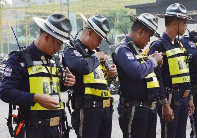 Bonifacio Global City traffic marshal's body camera