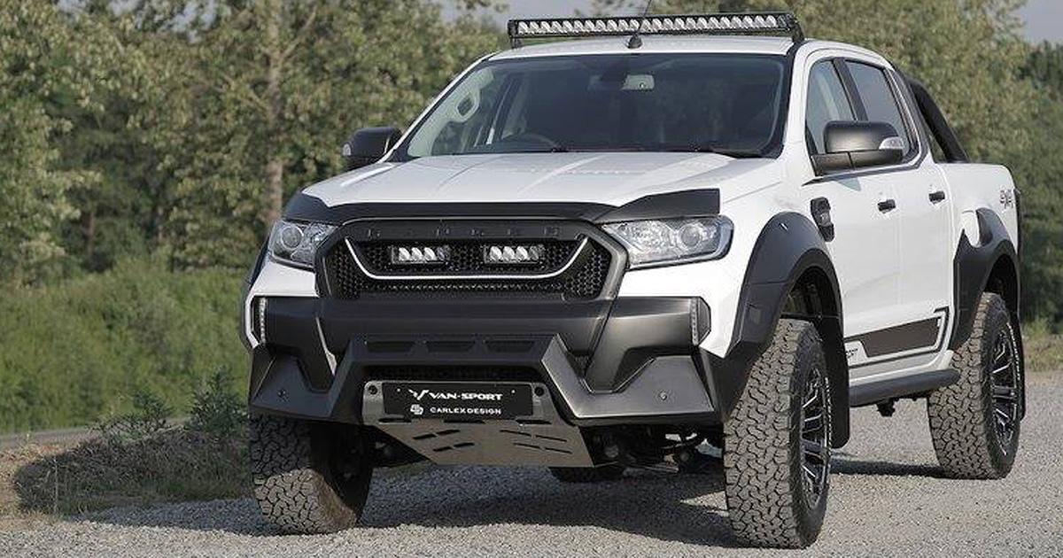 Badass M-Sport Ford Ranger   Car News   Top Gear Philippines
