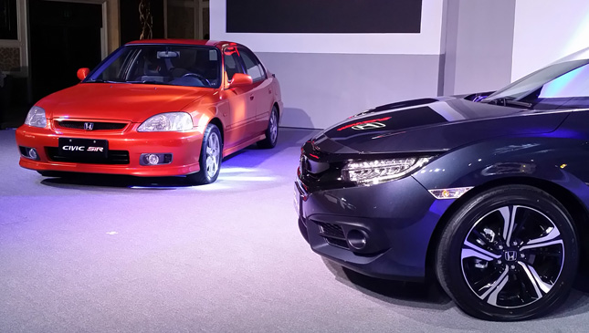 Honda Civic RS vs SiR
