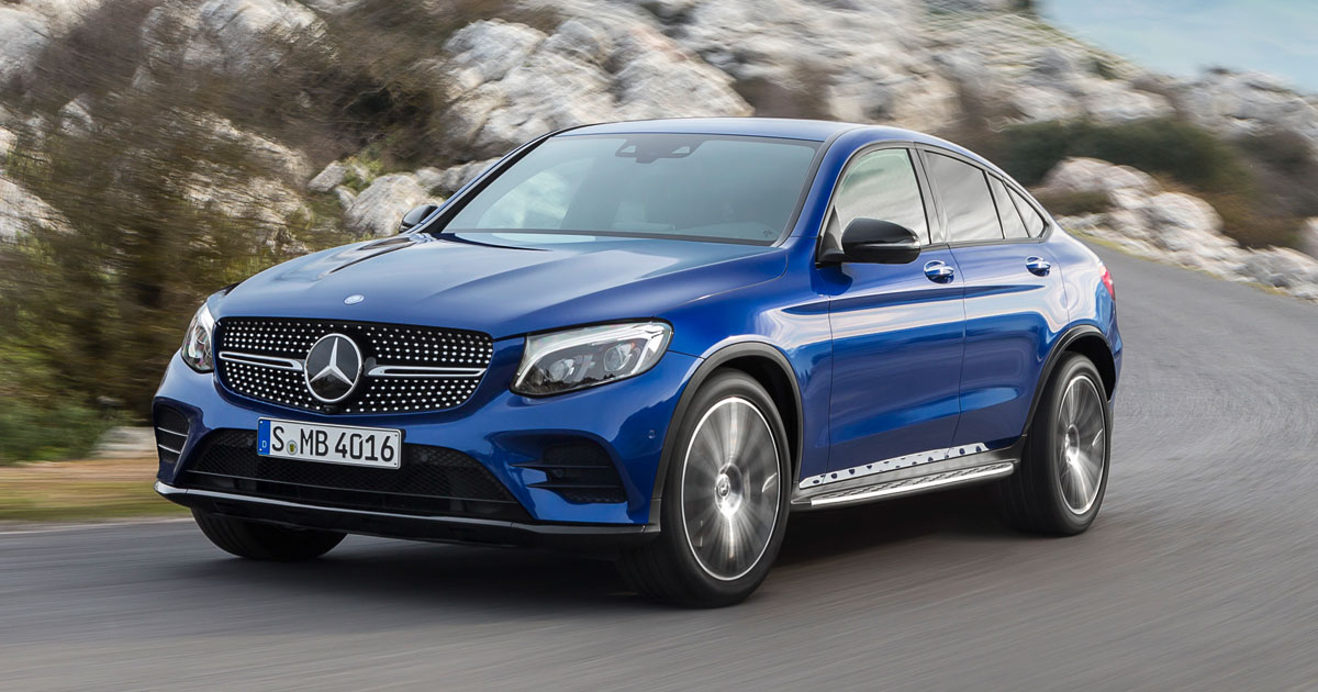 The Mercedes Benz Glc Coupe Has Become A Reality Car News Top Gear Philippines